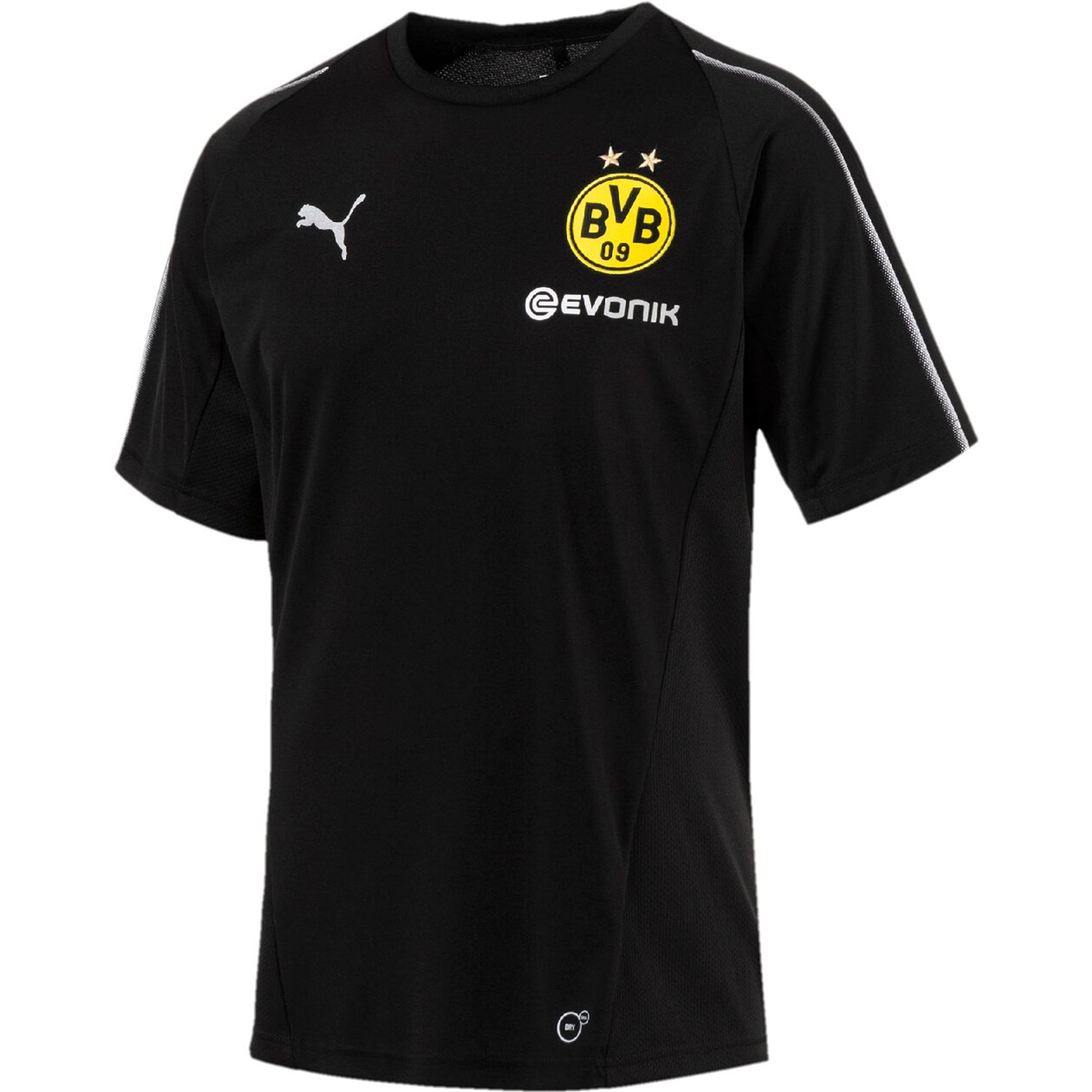 PUMA Herren T-Shirt BVB Training Jersey with Sponsor Logo