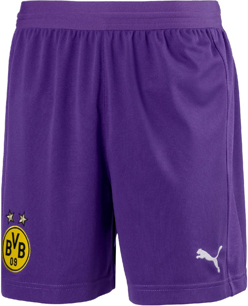 Puma Kinder Fußballshorts BVB Shorts Replica Jr with innerslip