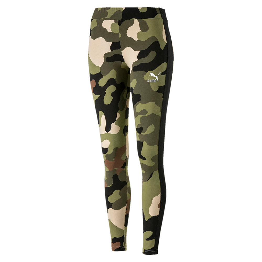 Puma Wild Pack T7 Legging - forest night