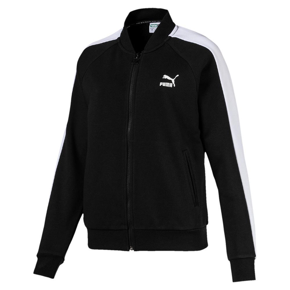 Puma Classics T7 Track Jacket, - cotton black