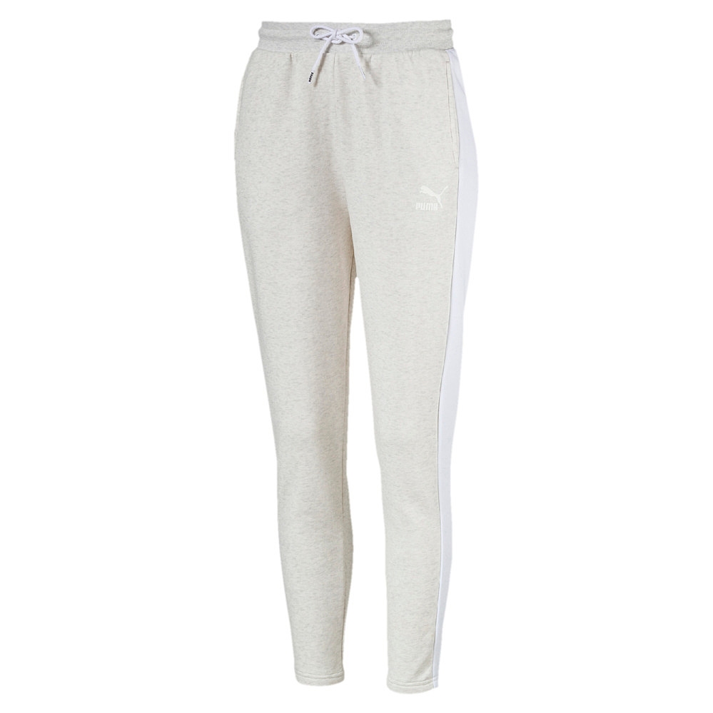 Puma Classics T7 Track Pant, Ft - puma white-ice heather