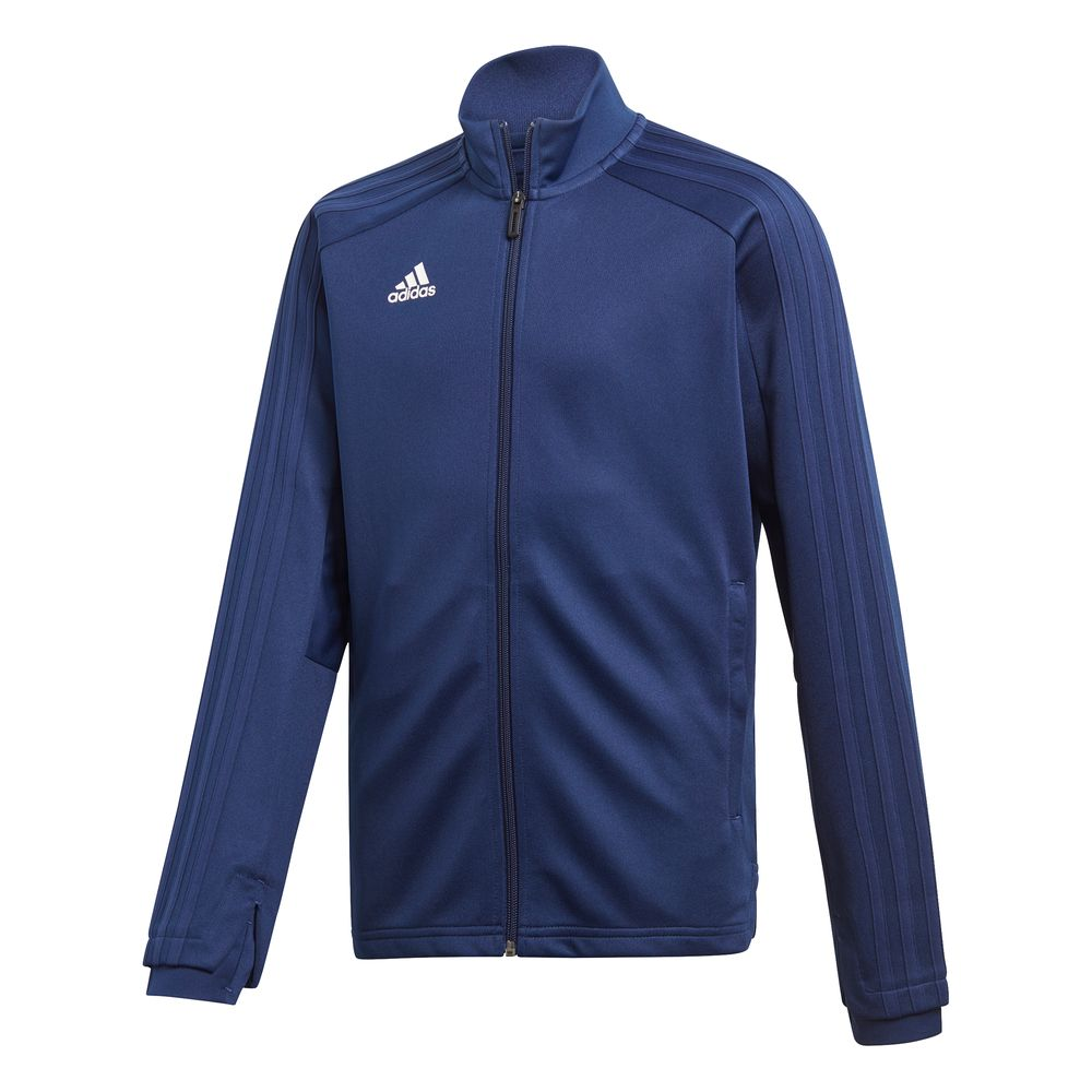 adidas Con18 Tr Jkt Y - dkblue/white