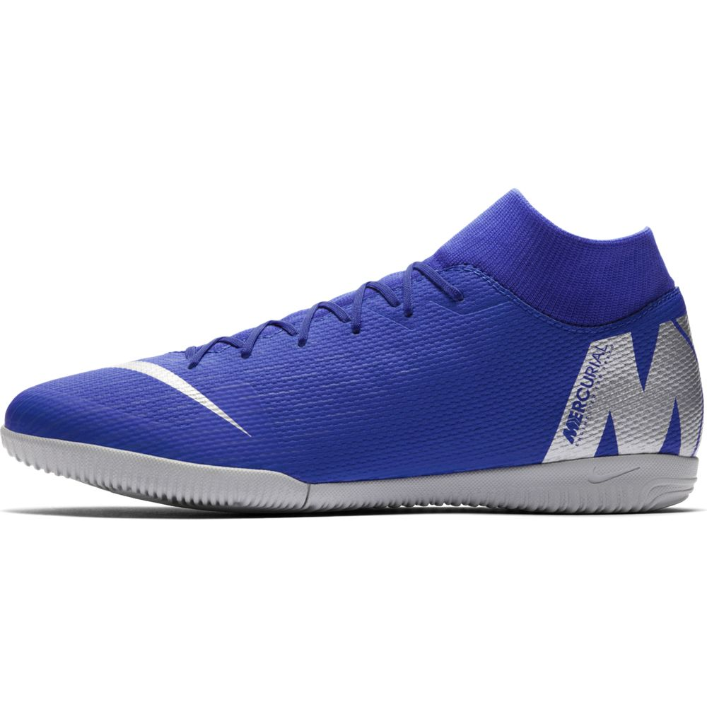 Nike Superflyx 6 Academy Ic - racer blue/metallic silver-bla