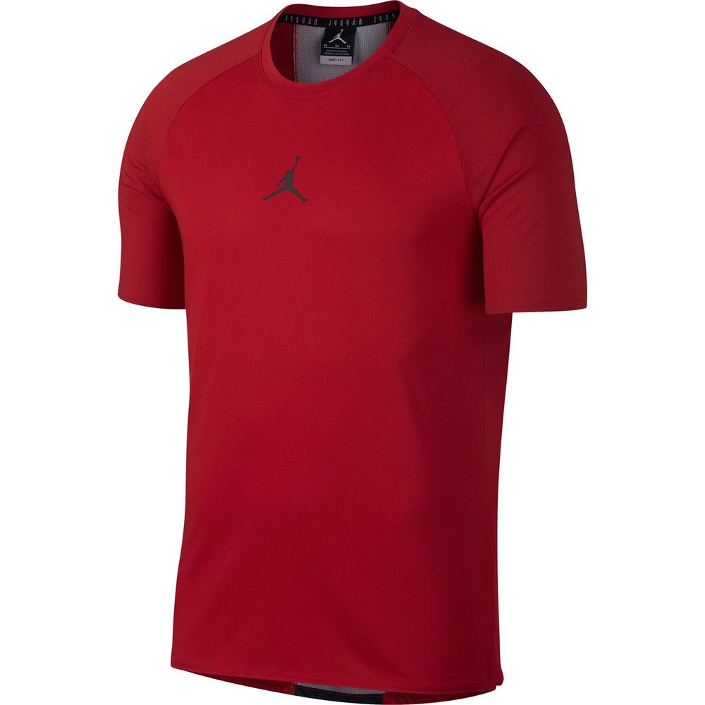 Nike 23 Alpha Dry Ss Top - gym red/black