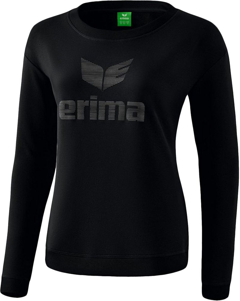 Erima Essential Sweatshirt - black/grey