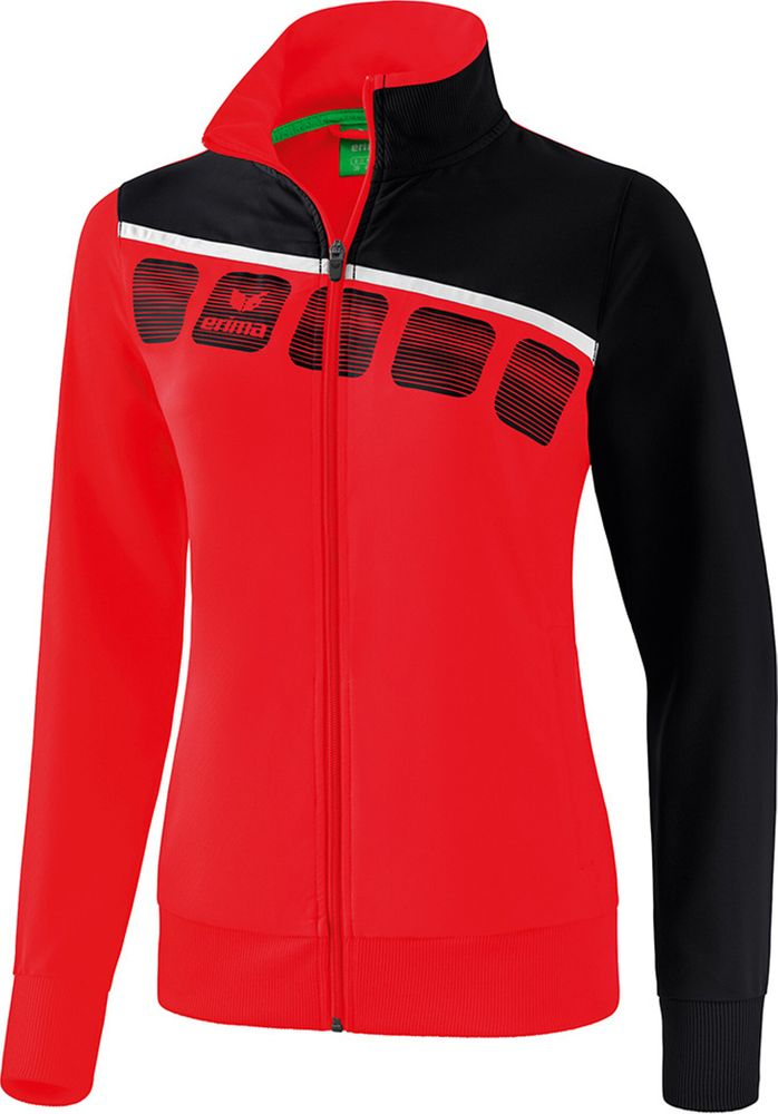 Erima 5-C Presentation Jacket - red/black/white