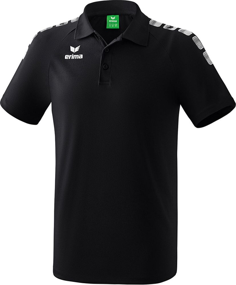 Erima Essential 5-C Poloshirt - black/white