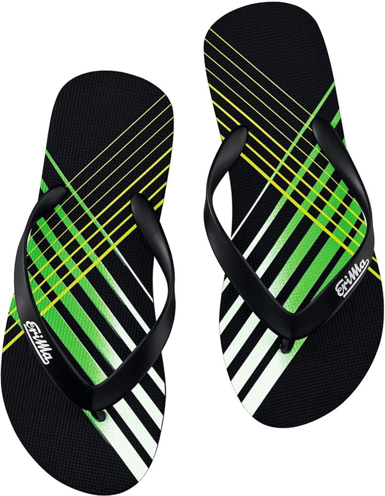 Erima Erima Beach-Slipper - black/green/white