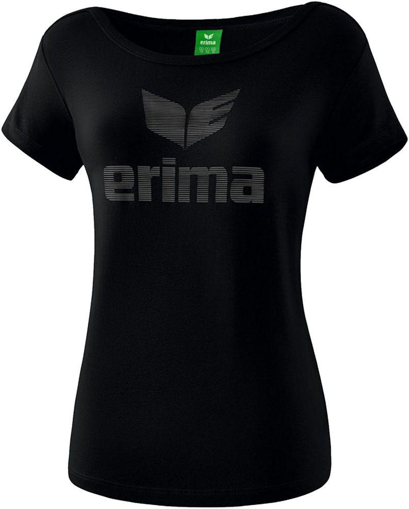 Erima Essential T-Shirt - black/grey