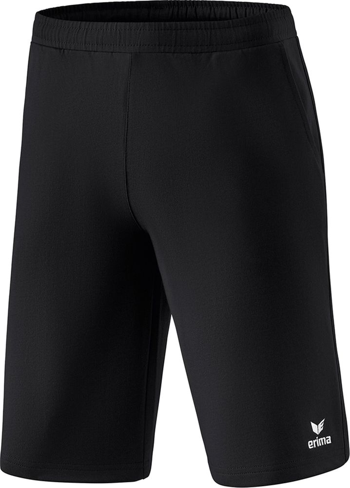 Erima Essential 5-C Sweatshorts - black/white