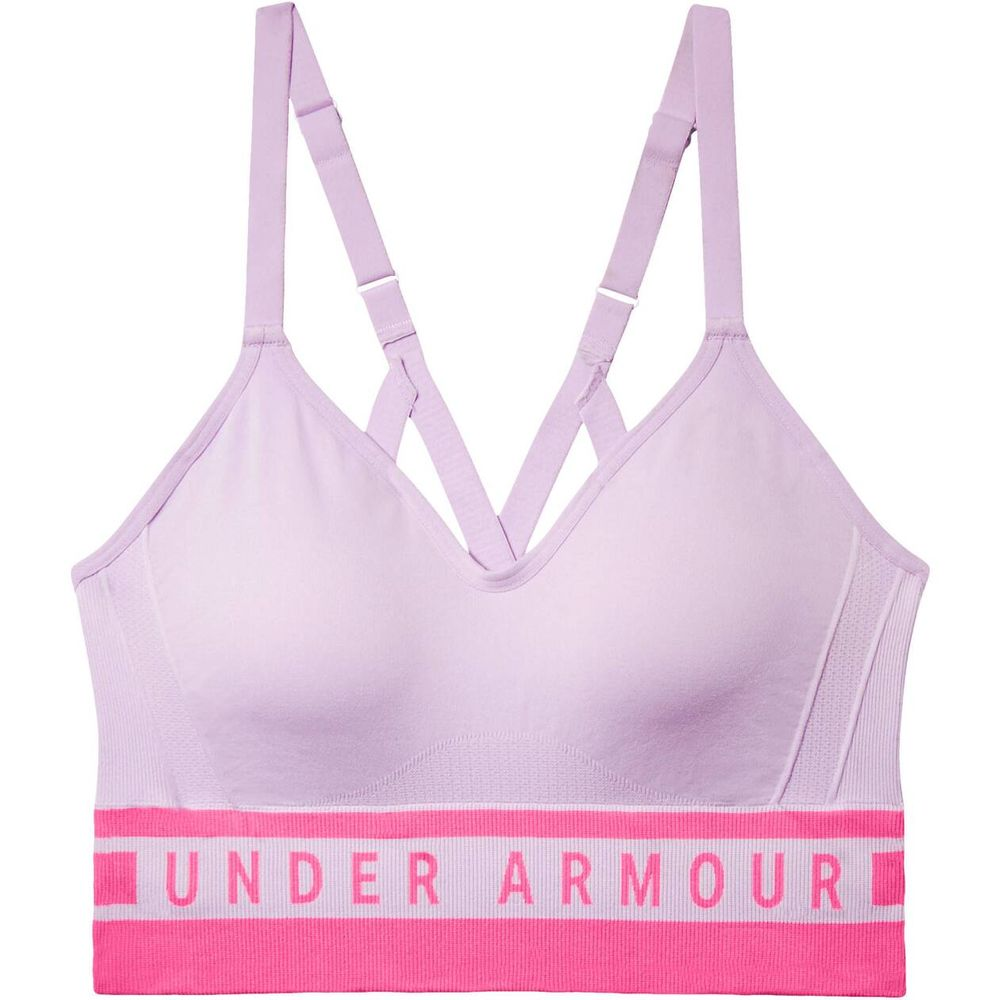 Under Armour Damen Sport-BH Seamless Longline Bra