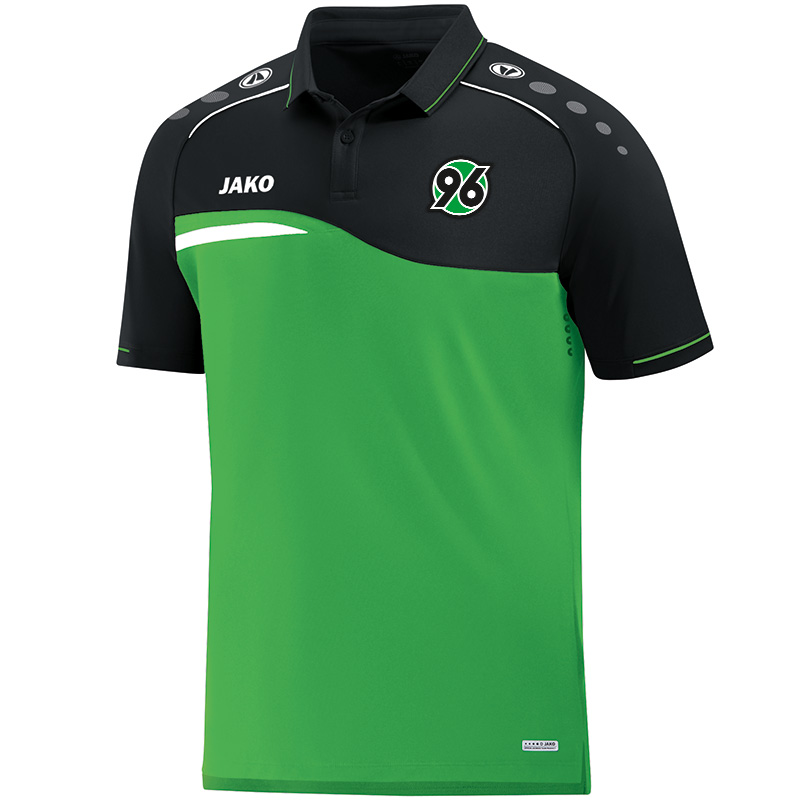 Jako Hannover 96 Polo Competition 2.0 - soft green/schwarz