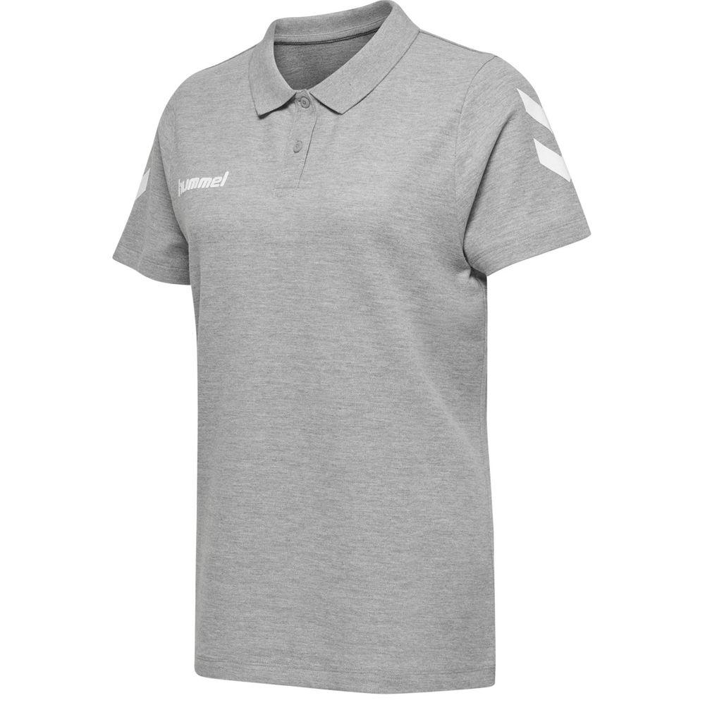 Hummel Hmlgo Cotton Polo Woman - grey melange
