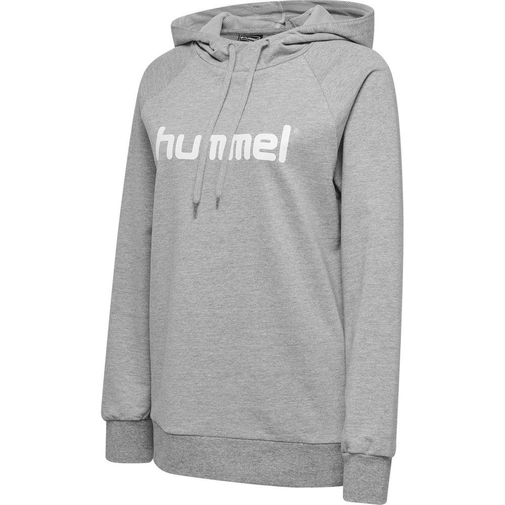 Hummel Hmlgo Cotton Logo Hoodie Woman - grey melange