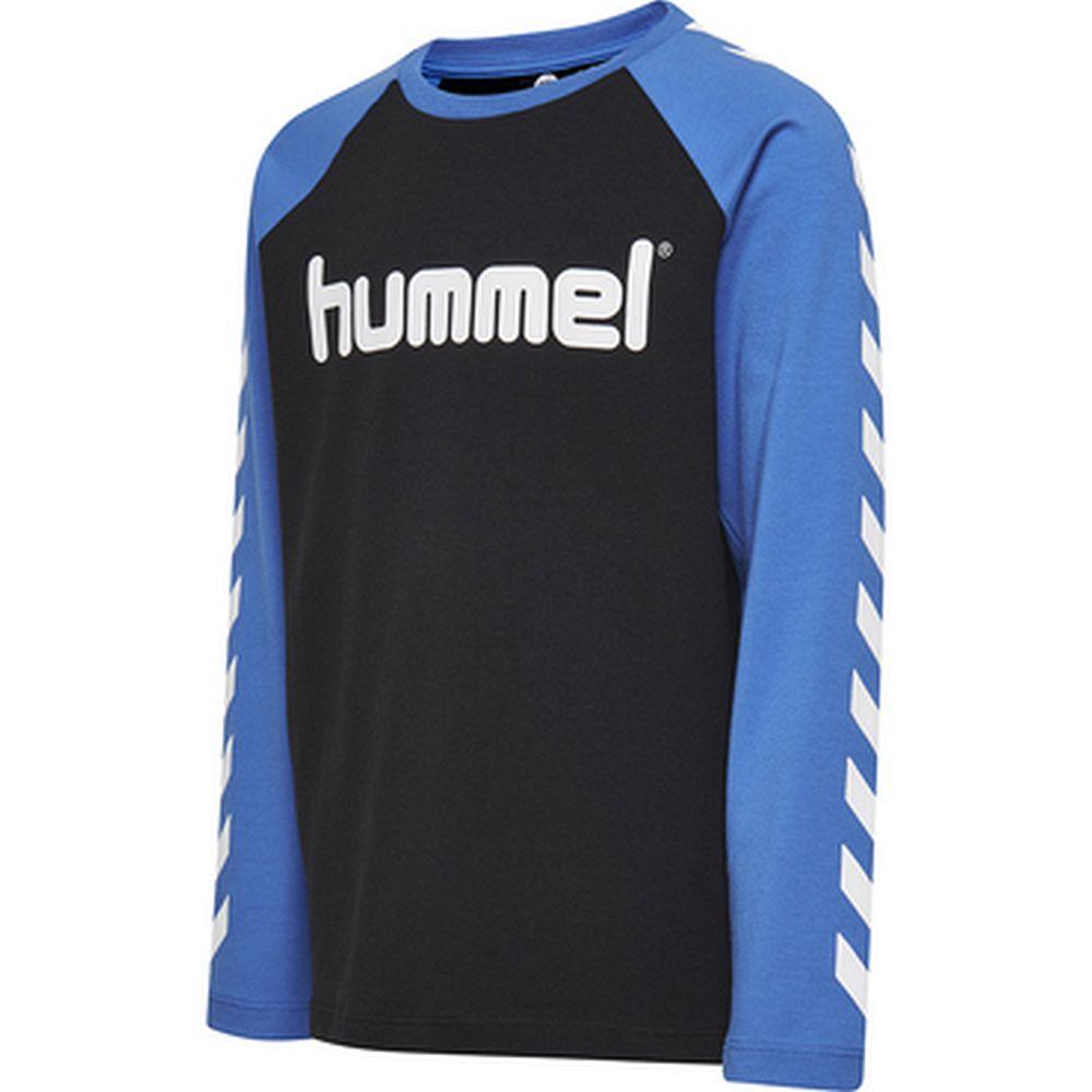 Hummel Hmlboys T-Shirt L/S - nebulas blue