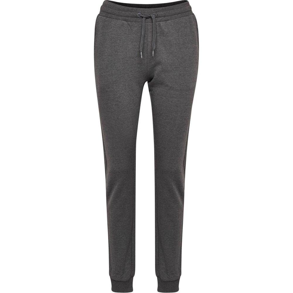 Hummel Hmlmadelyn Pants - dark grey melange