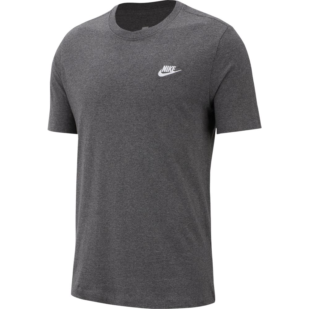 Nike M Nsw Club Tee - charcoal heathr/white