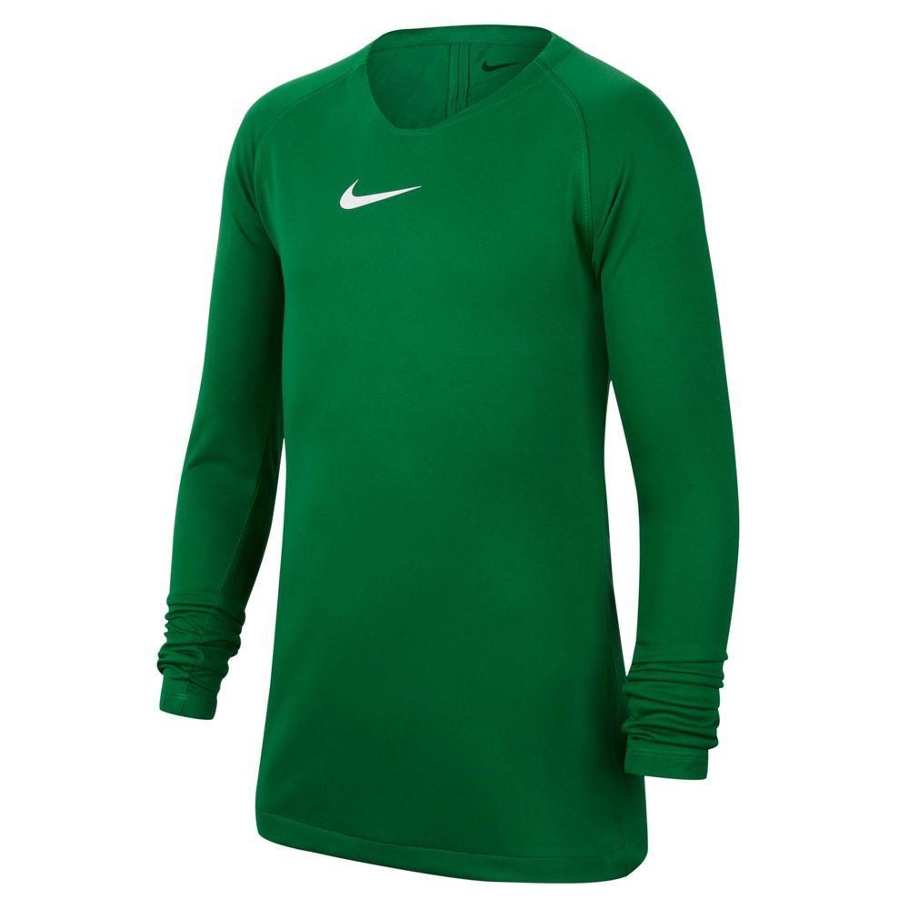 Nike Y Nk Dry Park 1Stlyr Jsy Ls - pine green/white