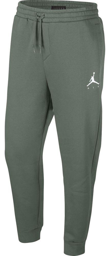 Nike Jumpman Fleece Pant - vintage lichen/white