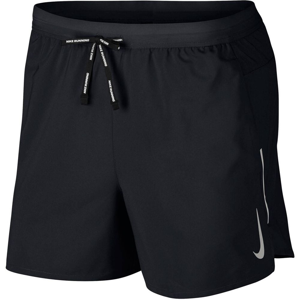 Nike M Nk Flx Stride Short 5In Bf - black/metallic silver