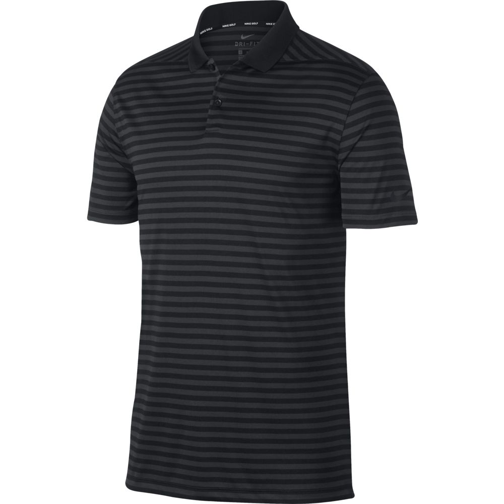 Nike M Nk Dry Vctry Polo Stripe - black/anthracite/cool grey