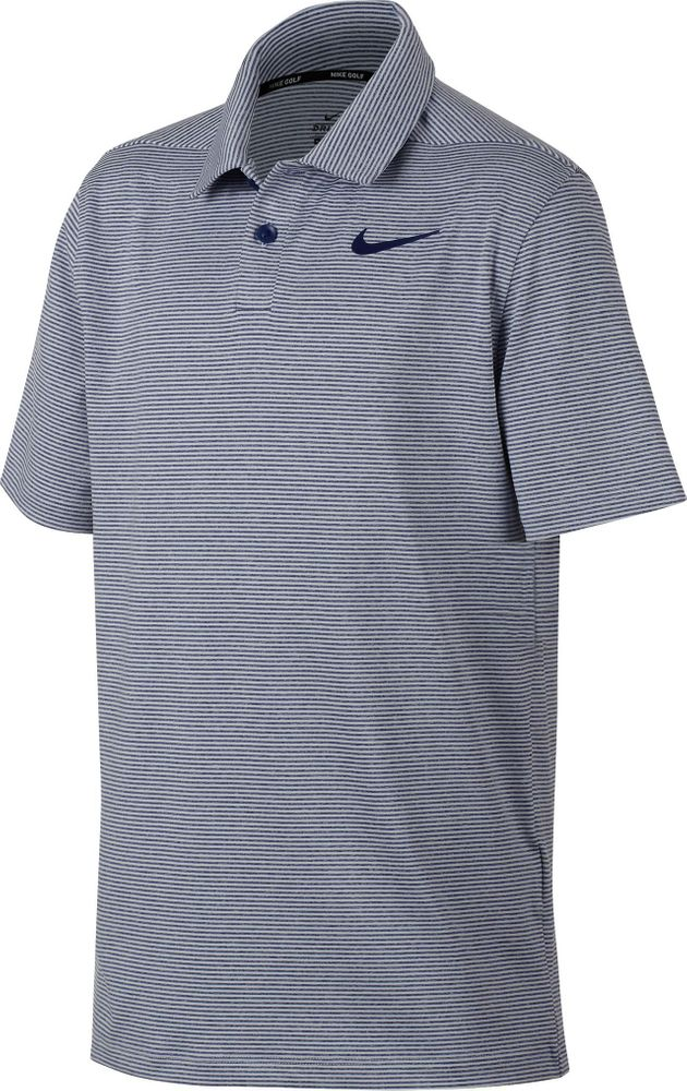 Nike B Nk Dry Polo Ctrl Stripe - blue void/pure/blue void