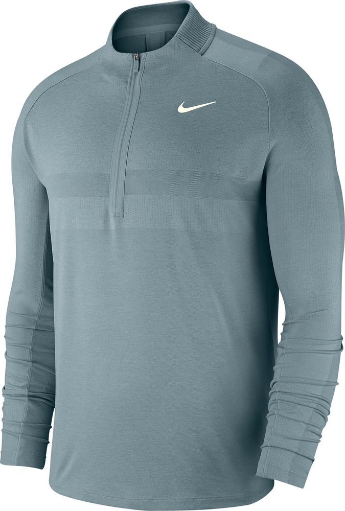 Nike M Nk Dry Top Hz Stmt - aviator grey/light silver/sail