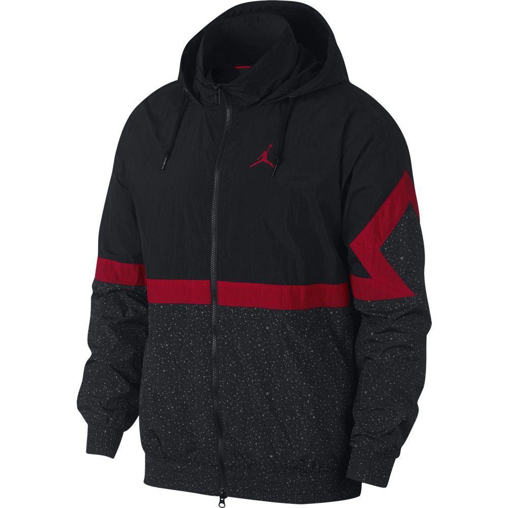Nike Diamond Cement Jacket - black/black/gym red/gym red