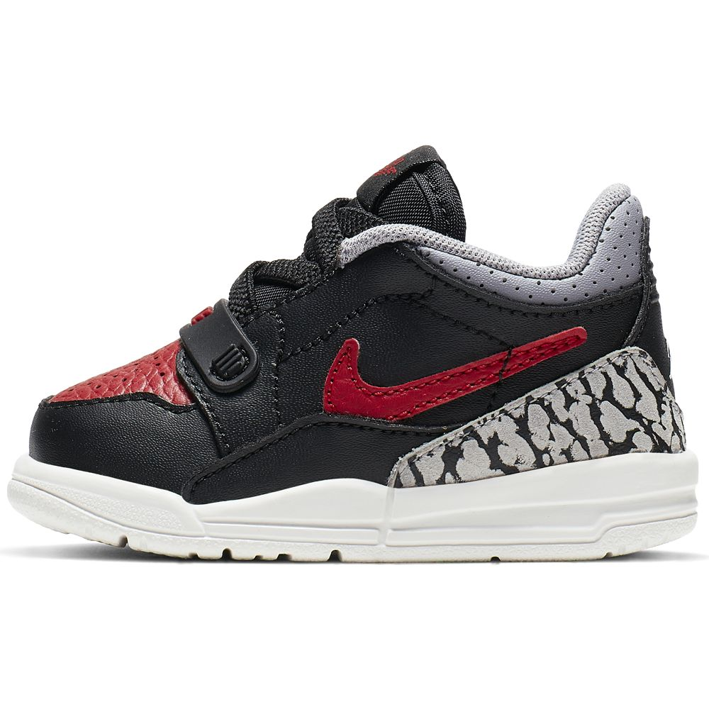 Nike Jordan Legacy 312 Low (Td) - black/varsity red-black-cement grey