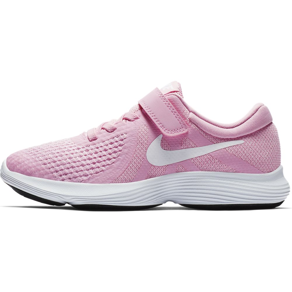 Nike Girls' Nike Revolution 4 (Ps) Pre-S - pink rise/white-pink foam -black