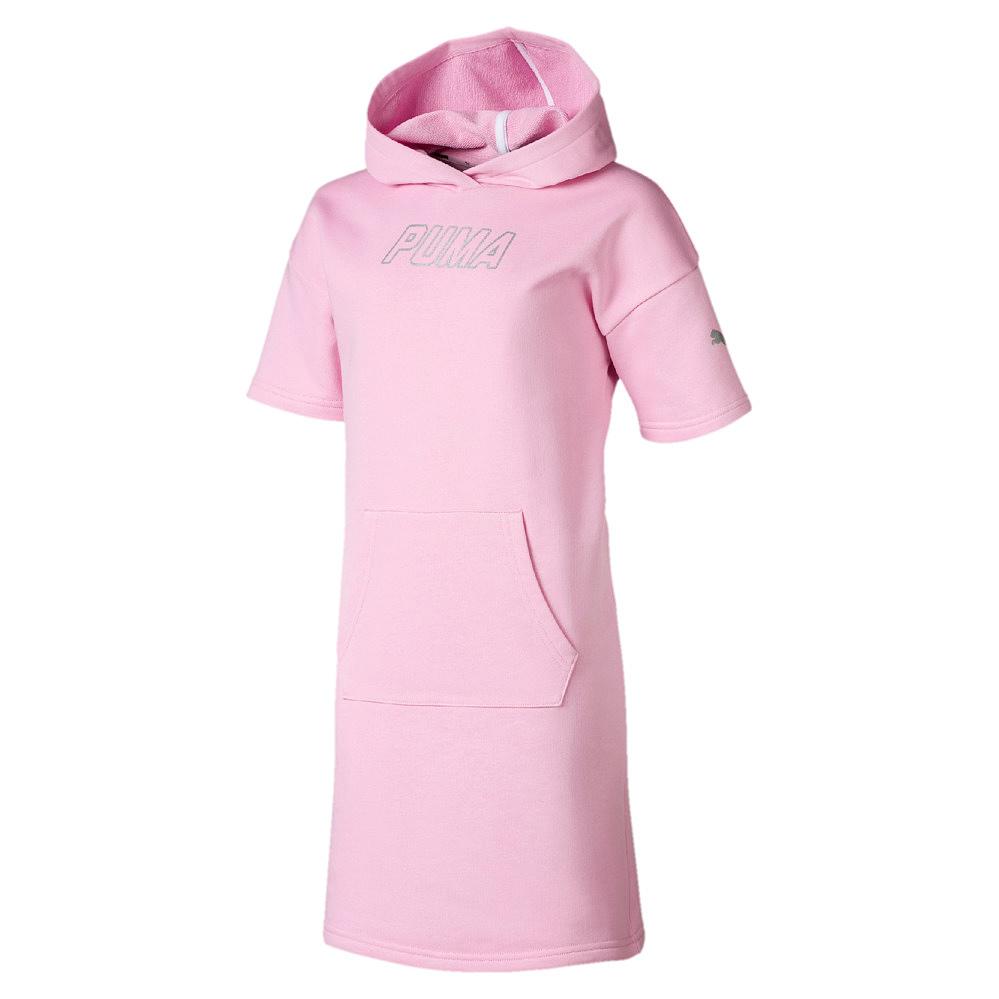 Puma Kinder Kleid Alpha Hooded Dress TR G