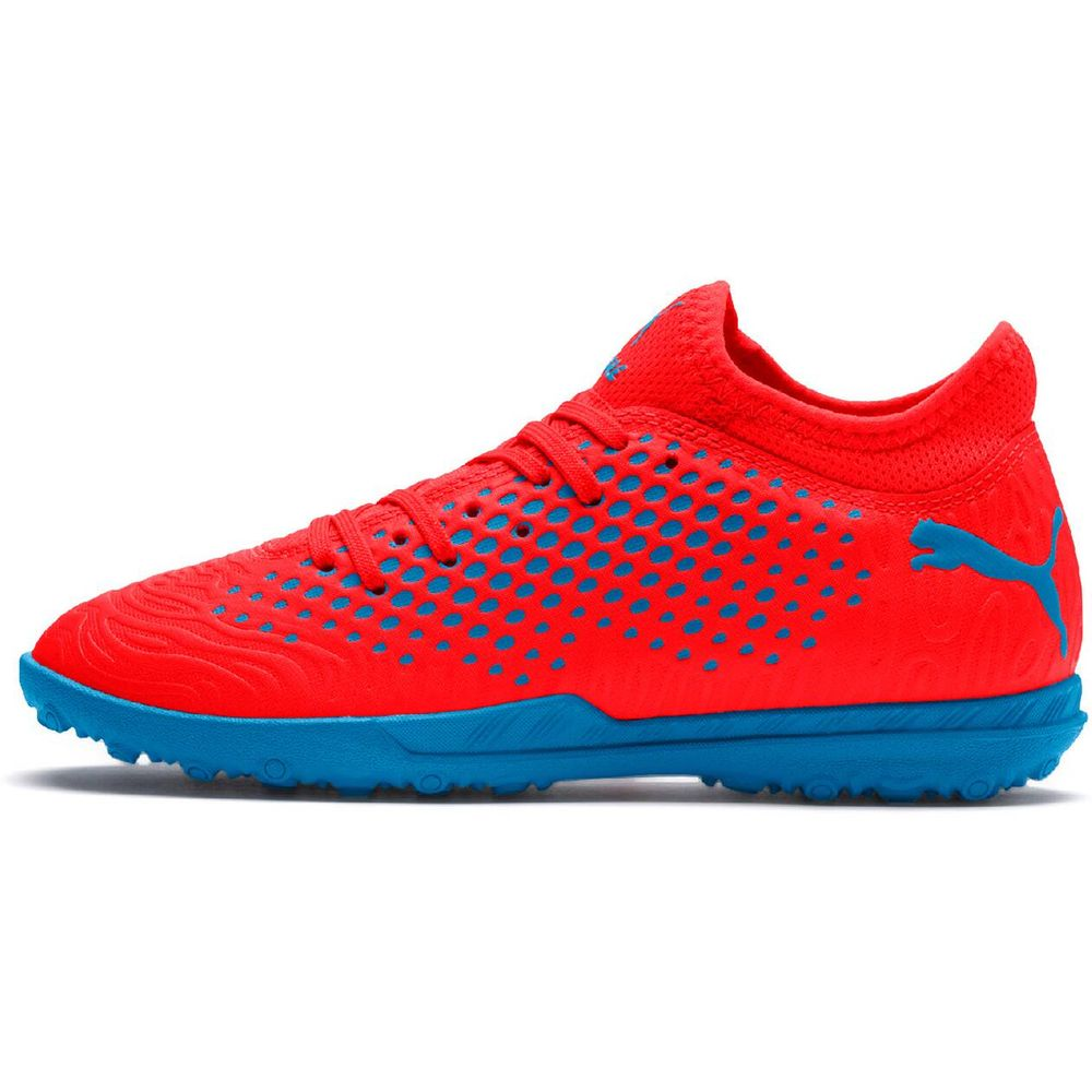 Puma Future 19.4 Tt Jr - red blast-bleu azur