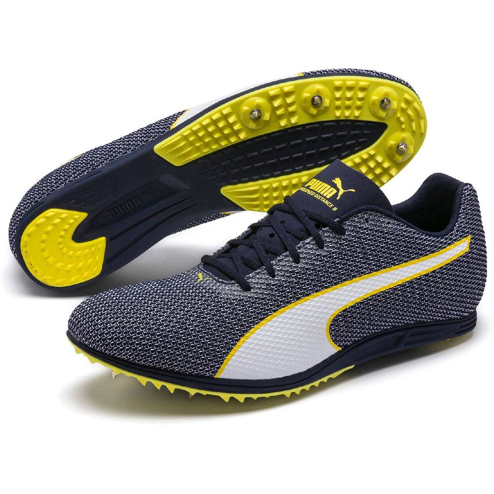 Puma Evospeed Distance 8 - peacoat-blazing yellow