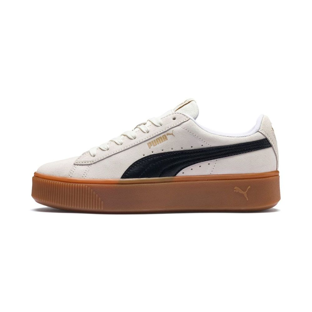 Puma Vikky Stacked Sd - whisper white-puma black