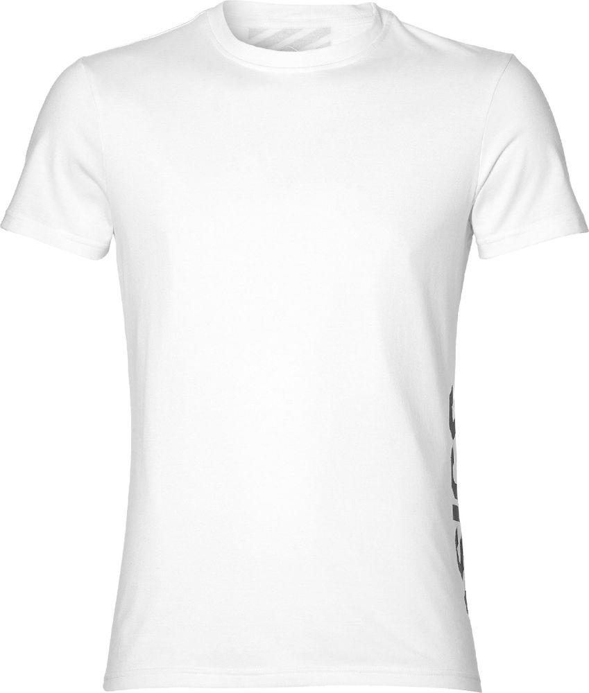 Asics Esnt Dbl Gpx Ss Top - brilliant white/performance black