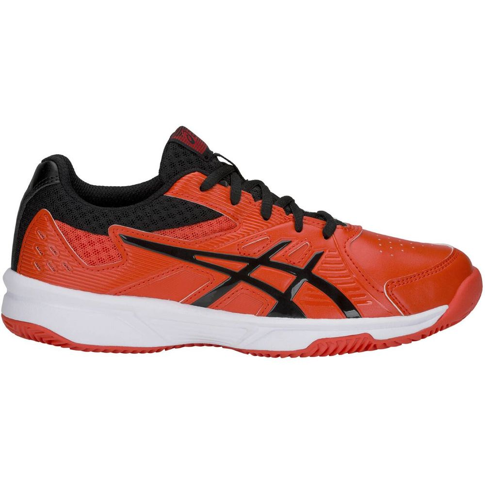 Asics Court Slide Clay Gs - cherry tomato/black