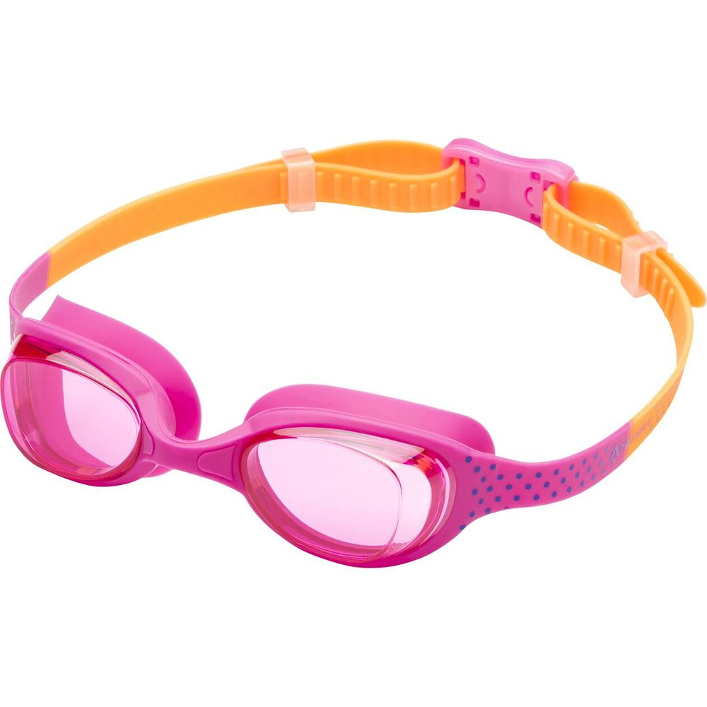 Tecnopro Schwimmbrille Atlantic X Jr - orange/pink/green li
