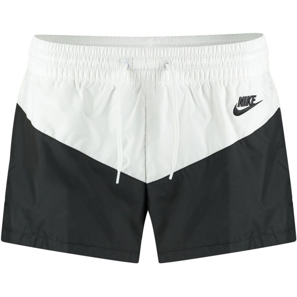 Nike W Nsw Hrtg Short Wvn - black/white/black