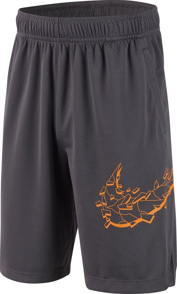 Nike B Nk Dry Short Gfx Su19 - dark grey/orange peel