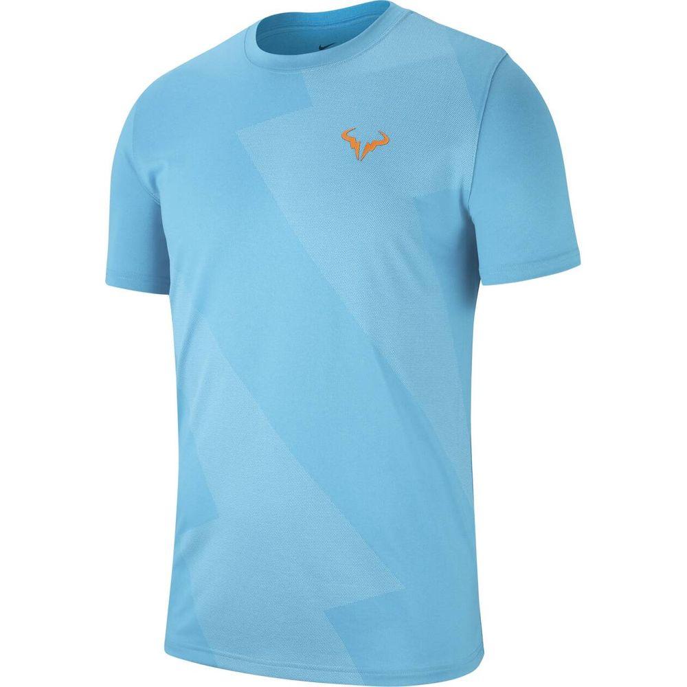 Nike M Nkct Rafa Tee - lt blue fury/total orange