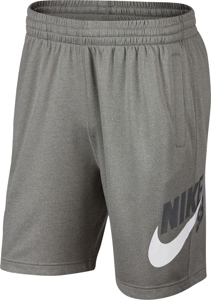 Nike M Nk Sb Dry Hbr Sunday Short - dk grey heather/black