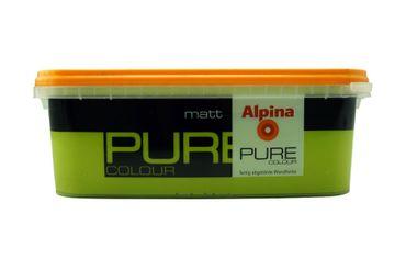 (5,00€/l) Alpina Pure Colour Wandfarbe matt 2,5 l Farbwahl! – Bild 5