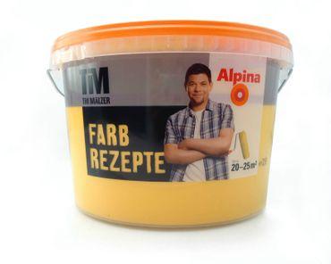 (7,98€/l)  ALPINA TIM MÄLZER FARBREZEPTE Wandfarbe 2,5 l Farbwahl!!! – Bild 13