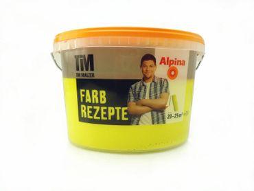(7,98€/l)  ALPINA TIM MÄLZER FARBREZEPTE Wandfarbe 2,5 l Farbwahl!!! – Bild 15