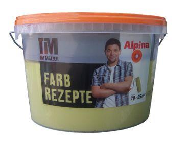 (7,98€/l)  ALPINA TIM MÄLZER FARBREZEPTE Wandfarbe 2,5 l Farbwahl!!! – Bild 4