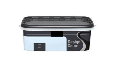 (5,40€/L) Design Color farbige Dispersionsfarbe/ Wandfarbe, matt 2,5l  FARBWAHL! – Bild 4