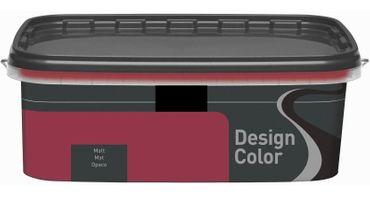 (5,40€/L) Design Color farbige Dispersionsfarbe/ Wandfarbe, matt 2,5l  FARBWAHL! – Bild 6