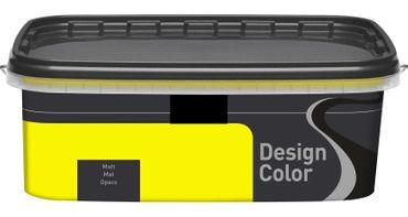 (5,40€/L) Design Color farbige Dispersionsfarbe/ Wandfarbe, matt 2,5l  FARBWAHL! – Bild 17