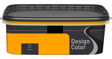 (5,40€/L) Design Color farbige Dispersionsfarbe/ Wandfarbe, matt 2,5l  FARBWAHL! – Bild 25
