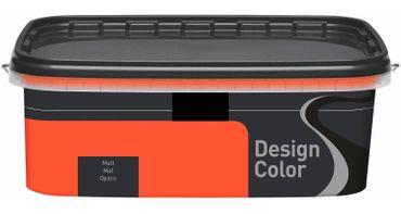 (5,40€/L) Design Color farbige Dispersionsfarbe/ Wandfarbe, matt 2,5l  FARBWAHL! – Bild 20
